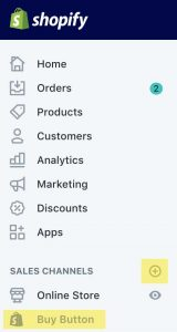 Add a Buy Button as a Sales Channel in Shopify to make a Tripwire link